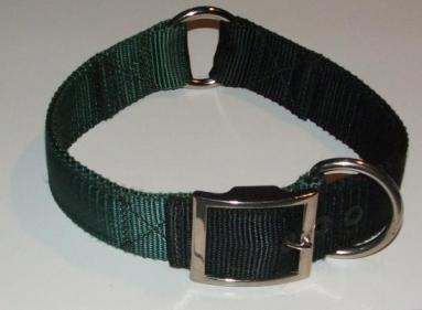 1-1/2 Inch 2 Color Nylon Collar