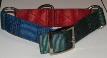 1-1/2 Inch 3 Color Nylon Collar
