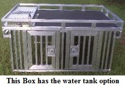 This Box has the water tank option