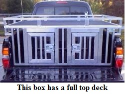 This Box has a full top deck