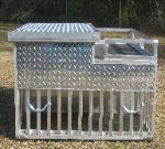 Custom Made Aluminum Truck Dog Boxes