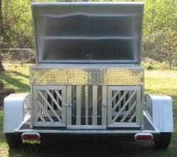 Custom Trailer Dog Boxes