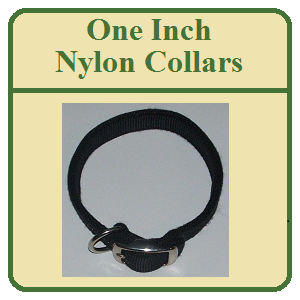 One Inch Nylon Dog Collars