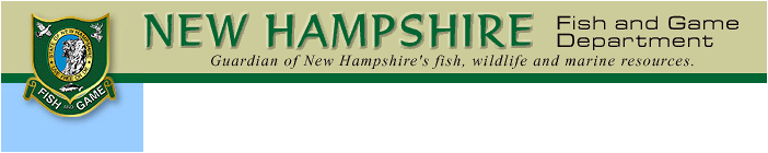 New Hampshire Fishing and Hunting Licenses