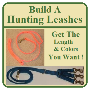 Build A Hunting Leashes