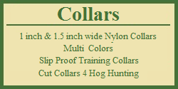 Dog Collars - Training Collars - Slip Proof Collars