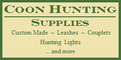 Coon Hunting Supplies - Tieout Leashes - Couplets