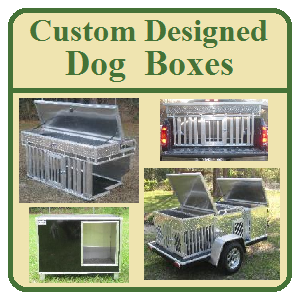 Custom Designed Dog Boxes