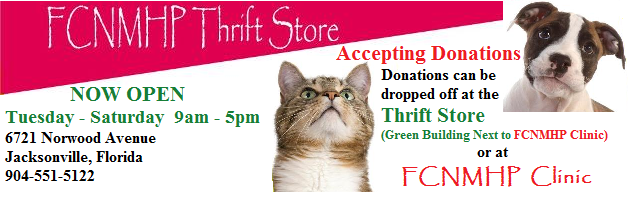 FCNMHP Thrift Store - Now Open