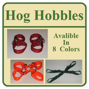 Hog Hobbles - Many Styles and Sizes - Hog Haulers