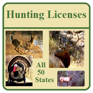Hunting Licenses and Information in all 50 States