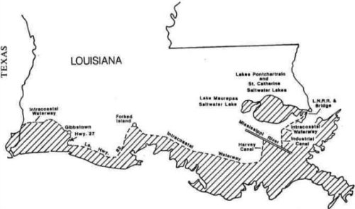 Fishing licences and regulations for Louisiana lifetime fishing license