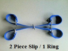 Hog Hobble - 2 Piece Slip with 1 Ring