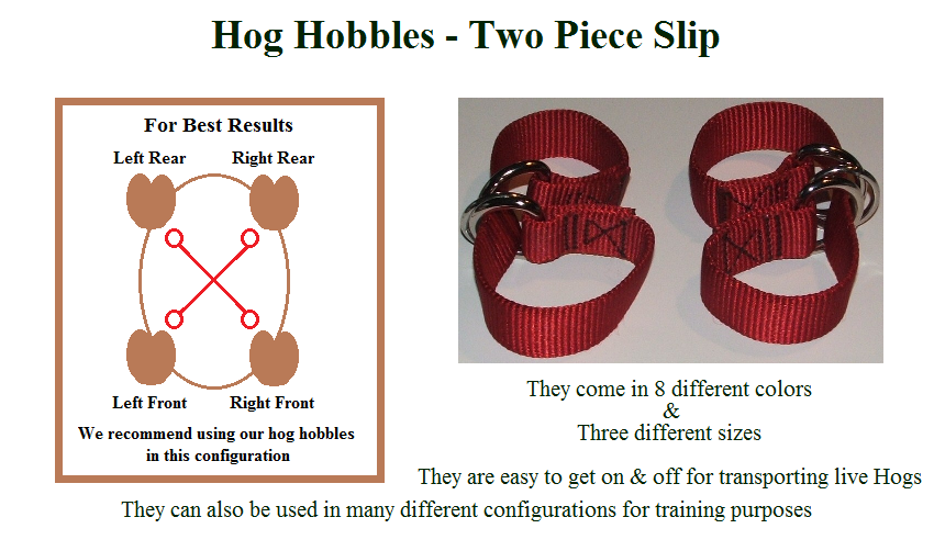 Hog Hobbles - Two Piece Slip