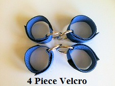Hog Hunting Hobble - 4 Piece Velcro Hog Hobble