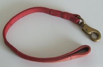 2 Ply Leash - Solid Brass Bull Snap